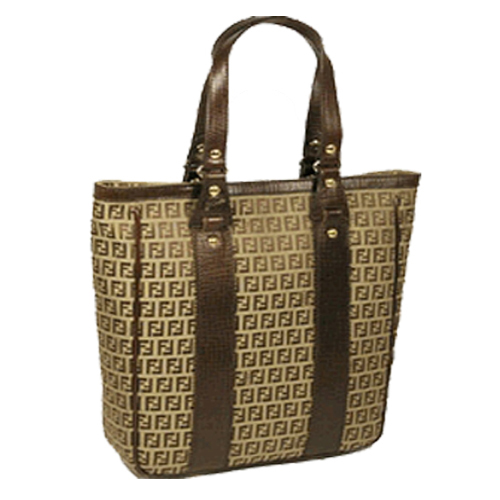 Fendi 8BH162 Zucchino Shopping Bag - Tan/Brown Out of Stock ... more info