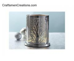 Enchanted Woodland Votive Hurricane